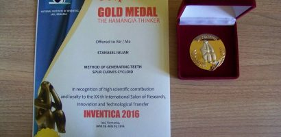Universitatea Oradea a fost premiata la salonul de Inventica 2016. Galerie Foto