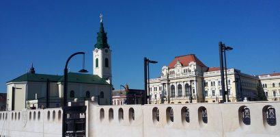 Au fost montate balcoanele pe podul Sf. Ladislau. Vezi cum arata. FOTO