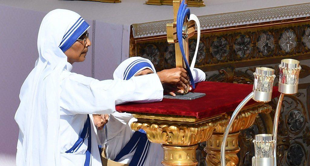 Maica Tereza sanctificata