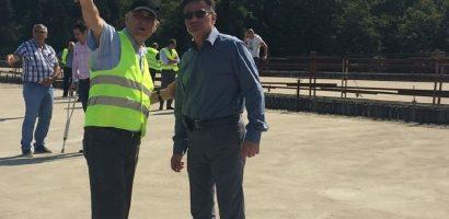 Ministrul Transporturilor a inspectat Autostrada A3, Bors – Suplacu de Barcau, pentru a decide viitorul proiectului