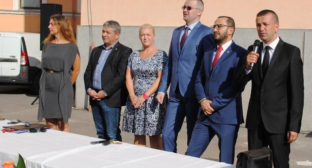 Viceprimarul Florin Birta deschidere CN Emanuil Gojdu