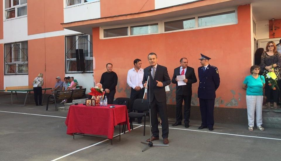 Viceprimarul Mircea Malan Malan deschidere Scoala Dacia