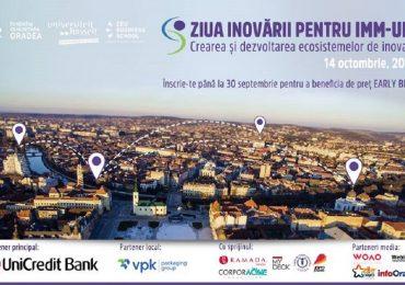 "Fundatia Comunitara Oradea organizeaza ""Ziua Inovării pentru IMM-uri/SME Innovation Day"", editia a II-a"
