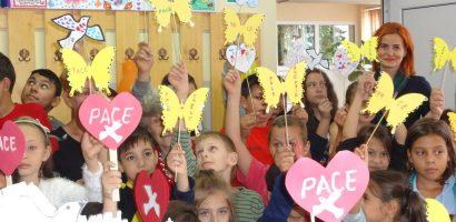 Ziua Mondiala a Pacii sarbatorita la Oradea de copii de la Centrul de Zi
