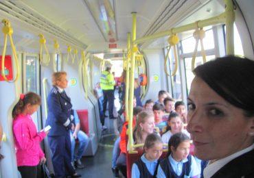 educatie rutiera in tramvai Oradea