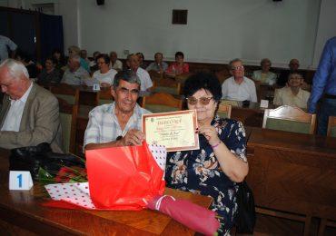 """47 de familii care au sarbatorit """"Nunta de Aur"""" au fost premiate cu 500 de lei, de Viceprimarul Florin Birta"""