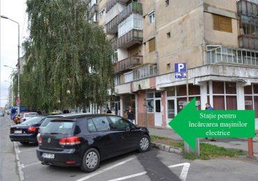 Vezi unde va amplasa Primaria statiile pentru incarcarea autovehiculelor electrice. FOTO