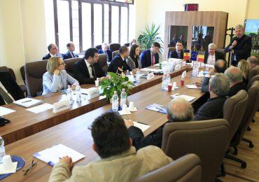 Ambasadorul Republicii Moldova, in vizita in Bihor
