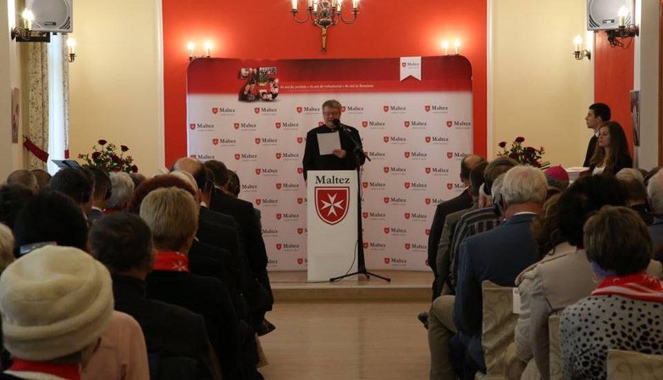 25 de ani de activitati caritabile in Romania ale Serviciului de Ajutor Maltez