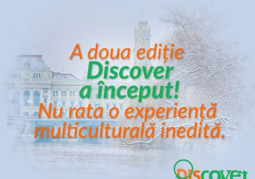 Programul de educatie non-formala DISCOVER revine la Oradea