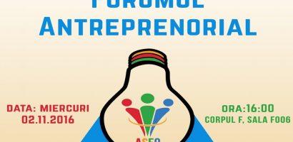 Forumul antreprenorial, eveniment de business networking și mentorat în afaceri, la Universitatea Oradea