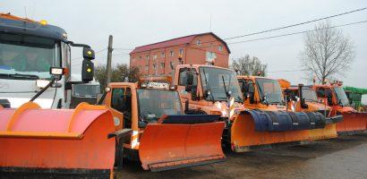 Sa vina zapada! Primaria a facut o inspectie a utilajelor folosite la dezapezire de catre RER Oradea