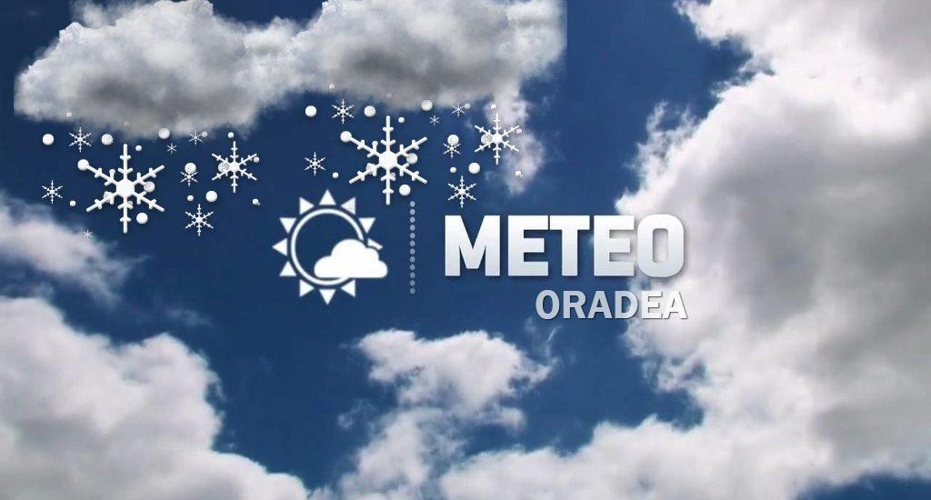 Vreme deosebit de rece, in Oradea, in saptamana 2-8 ianuarie 2017. Vezi prognoza