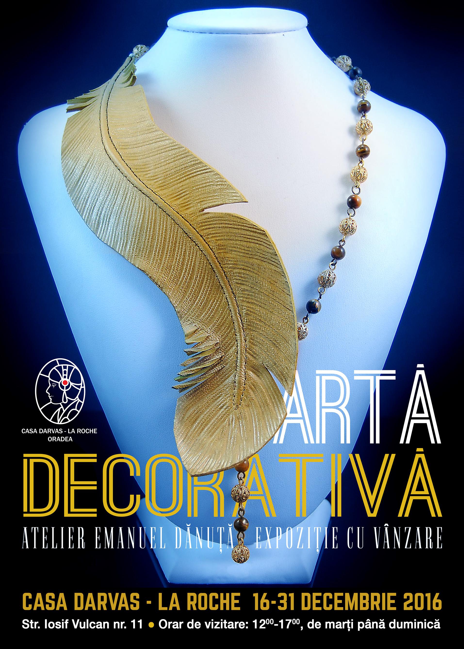 Afis Expozitie bijuterii Darvas-La Roche