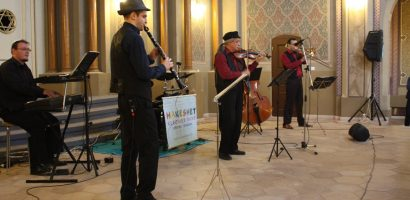 Concert Hakeshet Klezmer Band la Sinagoga Zion, duminica 18 decembrie
