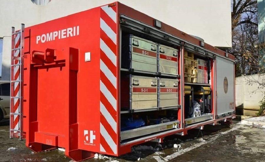 Judetul Bihor a primit in dotare aparatura destinata operatiunilor de cautare-salvare a victimelor in caz de urgente majore
