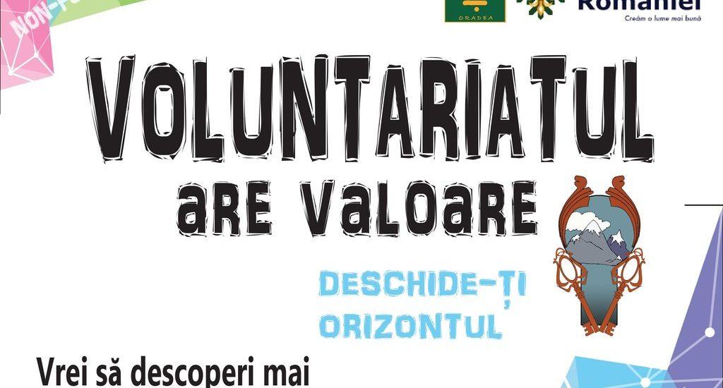 Voluntariatul are valoare – Largeste-ti orizontul. O campanie initiata de Cercetasii Romaniei