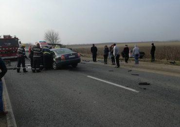 Accident cu 7 victime, dintre care 2 minori, la iesirea din Valea lui Mihai, pe D19. FOTO