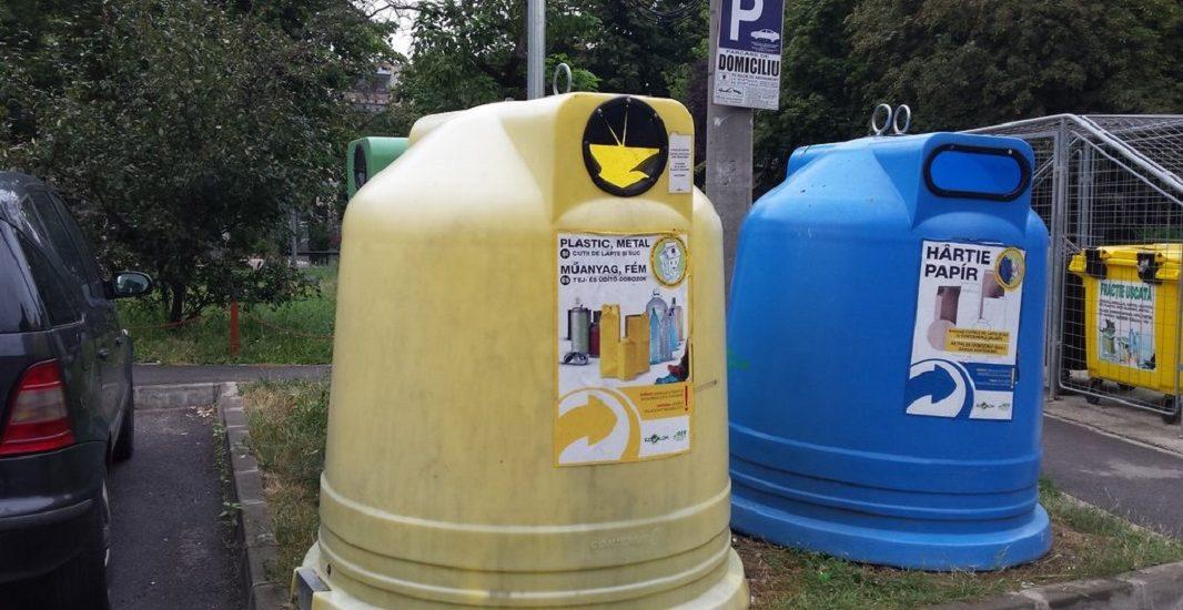 179 de Asociatii de Proprietari, din Oradea, au fost amendate pentru ca nu colecteaza selectiv gunoiul