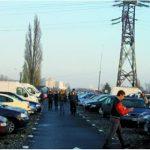 Politistii locali au verificat persoanele care vand masini in Piata Obor din Oradea