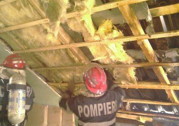 incendiu la acoperis