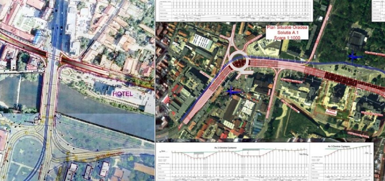 Patru pasaje subterane vor rezolva problema traficului in zona Centrului Civic – Magheru