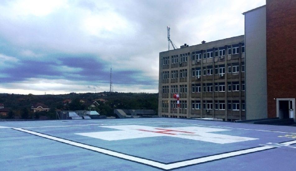 Helioportul de pe Spitalul Judetean, din Oradea, a fost autorizat de Autoritatea Aeronautica Civila