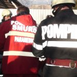 La un pas sa moara, intr-un incendiu in propria casa, din cauza unei tigari lasata aprinsa