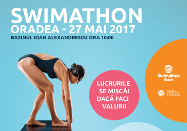 Bihorul își cheamă eroii: până în 22 mai aceştia se pot înscrie ca înotători sau ambasadori la Swimathon 2017