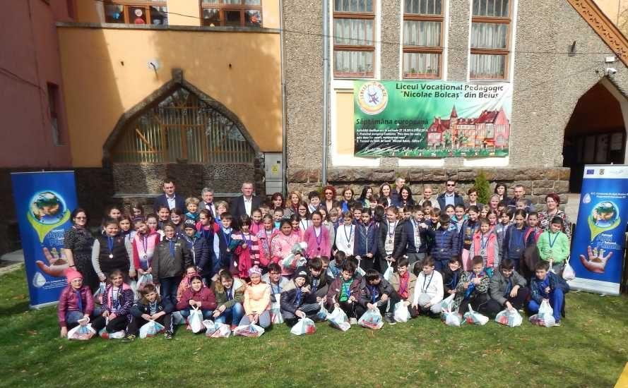 """Compania de Apa Oradea a sarbatorit """"Ziua Mondiala a Apei"""" impreuna cu elevii unor scoli din Tinca si Beius"""