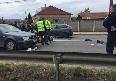 Accident scuter Lugasu de Jos