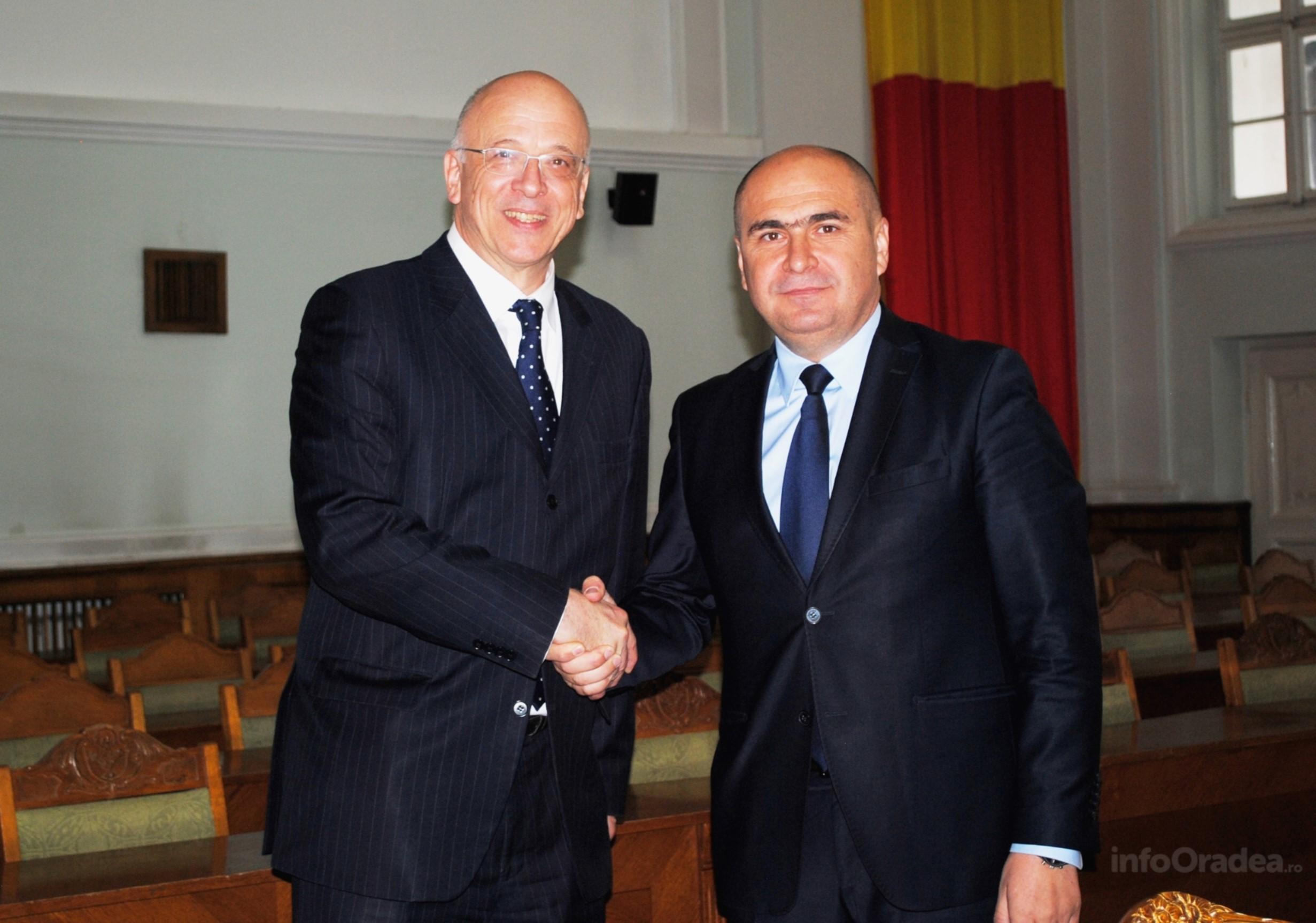 Ambasador Germania si Ilie Bolojan