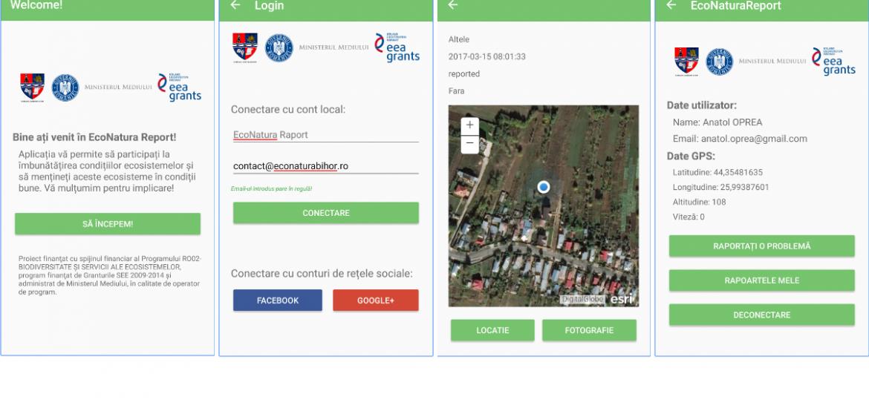 "CJ Bihor a lansat ""EcoNatura Report"", o aplicatia destinata monitorizarii ariilor protejate"