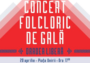 Concert Folcloric de Gală, in Piata Unirii, cu ocazia zilei de 20 aprilie – interpret principal Ioan Bocșa