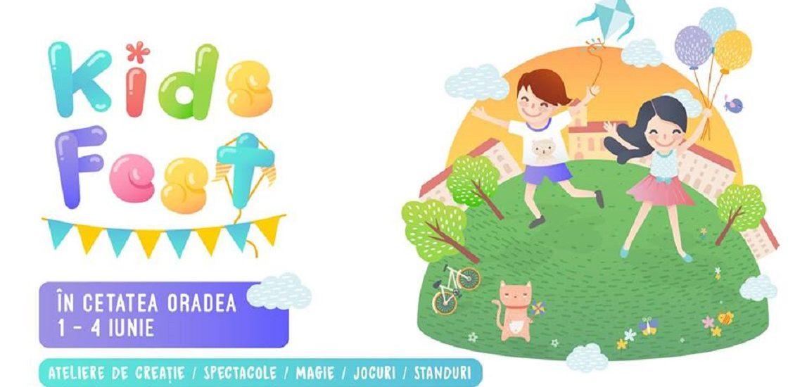 Cetatea Oradea se va transforma in Cetatea Copiilor. Distractie la maxim pentru cei mici la Kids Fest Oradea