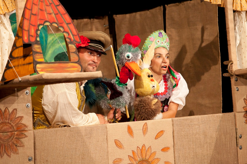 Din cauza ploii, piesa de teatru de copii, programata azi de la ora 17:00, se muta in incinta Teatrului Arcadia