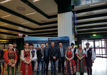 Prezentare CJ Milano aeroport