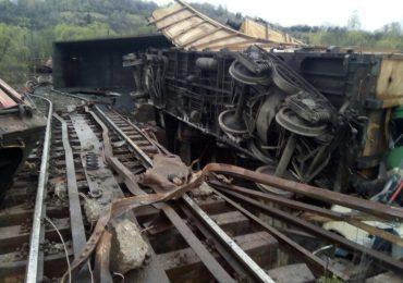 accident feroviar in Hunedoara