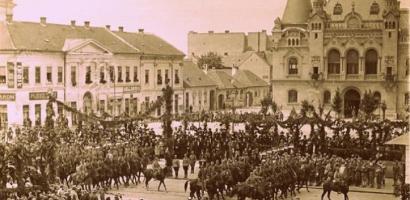 Eliberarea Oradiei sarbatorita pe 20 aprilie. Ce spuneau ziarele vremii