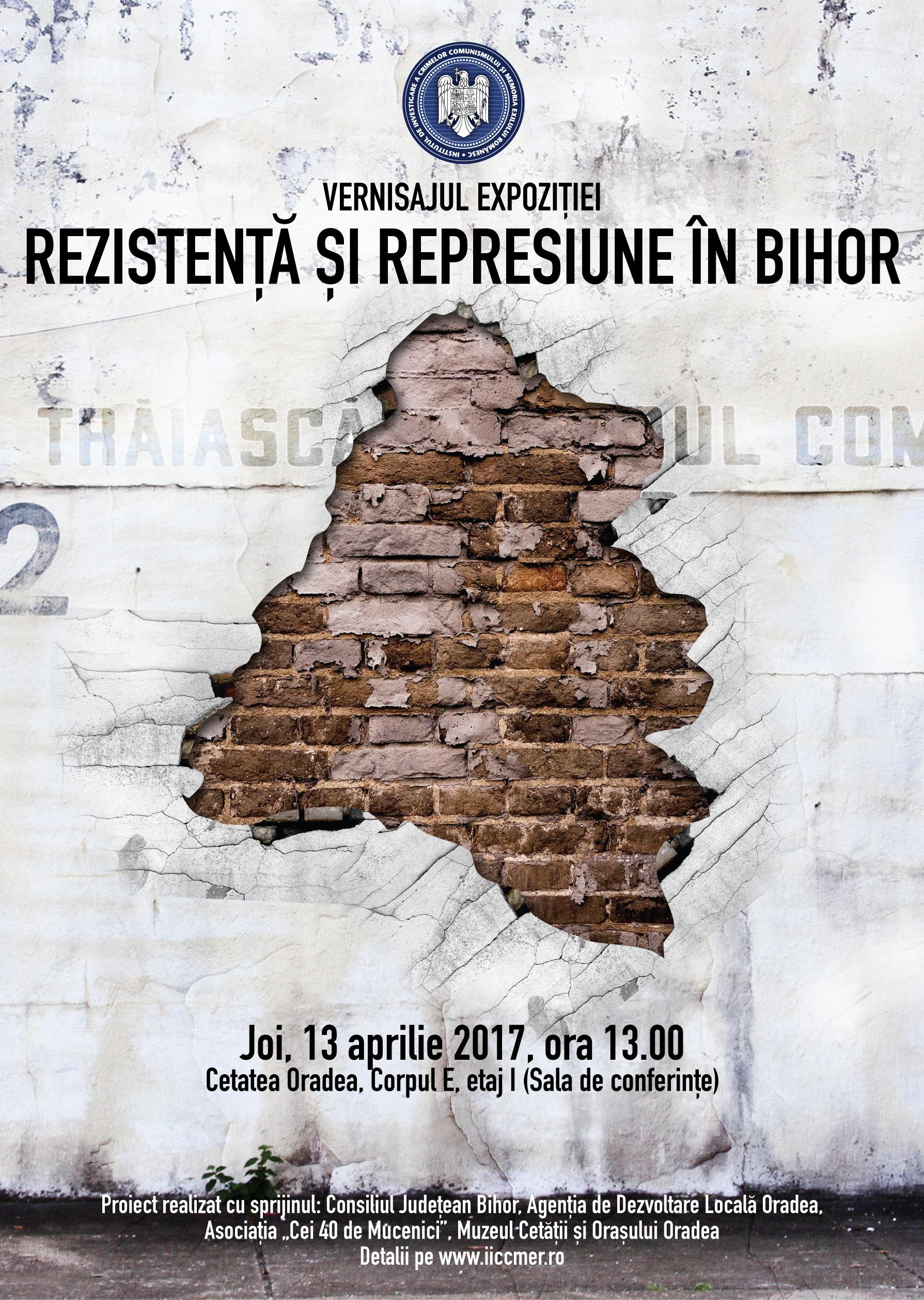 expozitie Rezistenta si represiune in Bihor, aprilie 2017