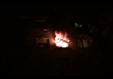Barbat gasit carbonizat intr-un incendiu, ieri pe strada Iza, din Oradea (FOTO/VIDEO)
