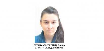 DISPARUTA! O minora de 17 ani din Cauasd, judetul Bihor a fost data disparuta