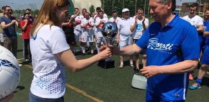 Echipa companiei ROZOTI a câștigat Turneul de Fotbal Cupa Companiilor, ediția 2017