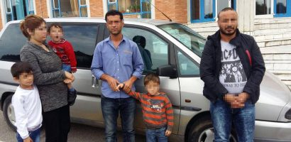 Familie de sirieni, oprita de politistii de frontiera oradeni, incercand sa ajunga ilegal in spatiul schengen