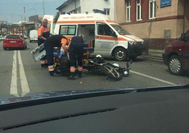 accident motocicleta Oradea