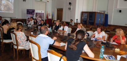Eveniment de informare și sensibilizare cu privire la fenomenul violenței în familie, la Primaria Oradea
