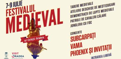 Program Festivalul Medieval al Cetății Oradea-ediția 2017