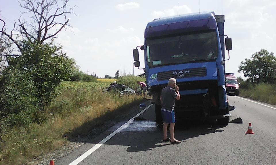 accident skoda tir dn79