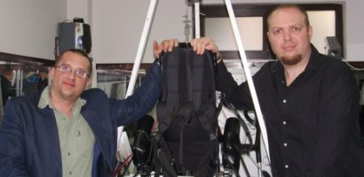 Robot medical, care ii va ajuta pe cei paralizati, facut la Oradea de doi ingineri IT