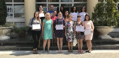 "Studentii economisti oradeni au participat la editia inaugurala a Scolii de Vara ""COMPANIES – STUDENTS – FACULTIES: connected together for a better absorbtion on the labor market"""